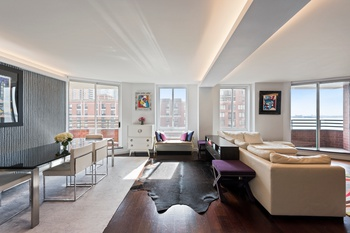 One of a Kind, GUT renovated, Sun-blasted with Water Views 3 bed 3 bath condo in Battery Park City
