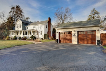 Sun-Drenched Colonial Home with Low Taxes in Alpine NJ